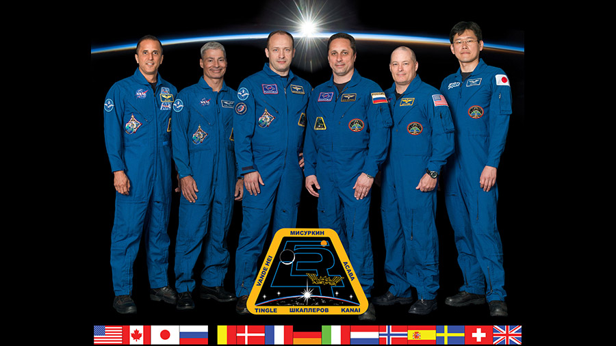 Expedition 54 Crew Portrait