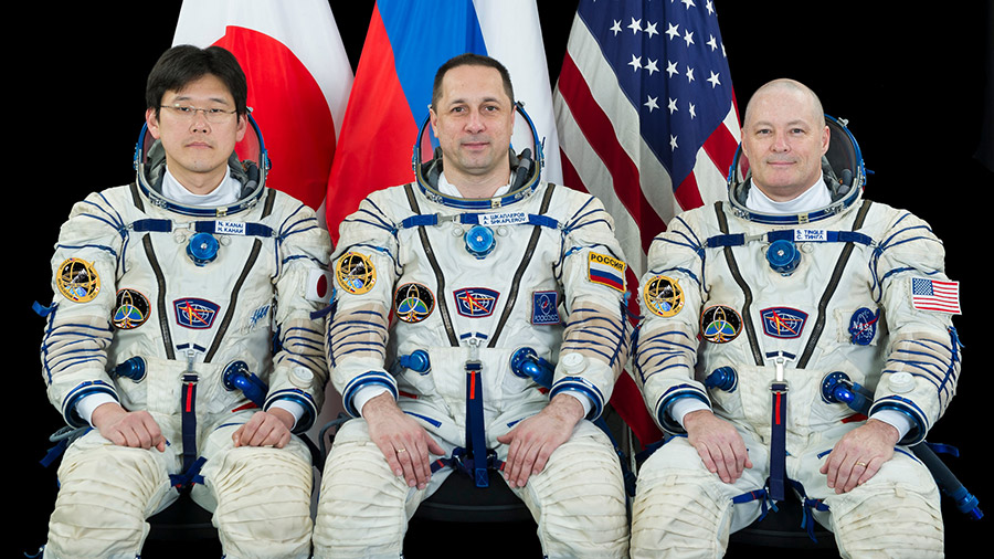 Expedition 54-55 prime crew members