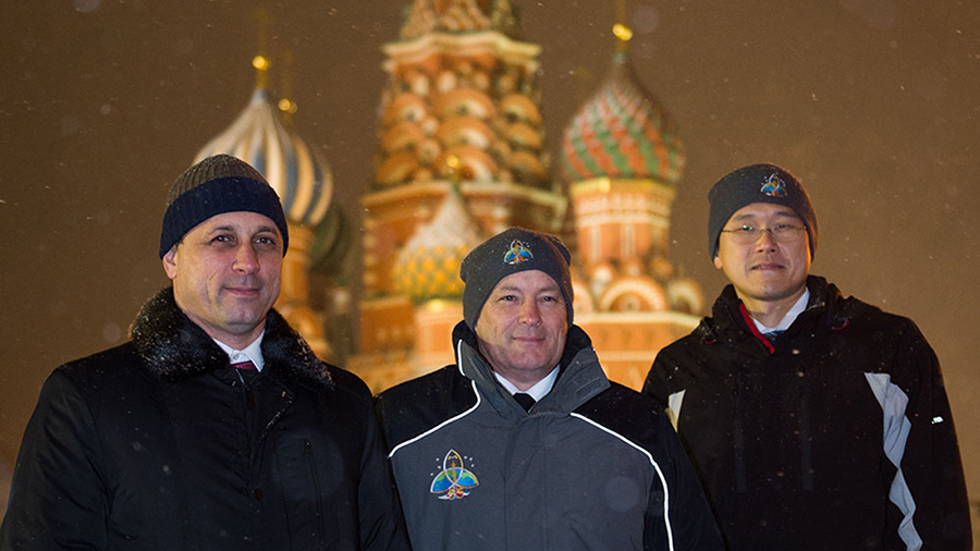 Expedition 54-55 Crew Members