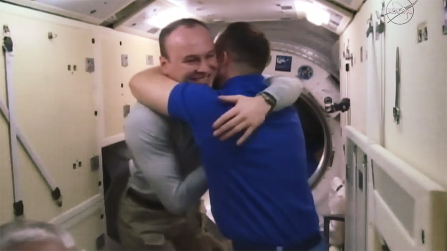 Expedition 53 Crew Farewell