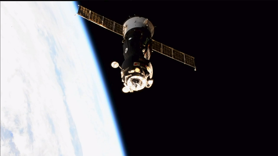 Soyuz MS-05 Spacecraft