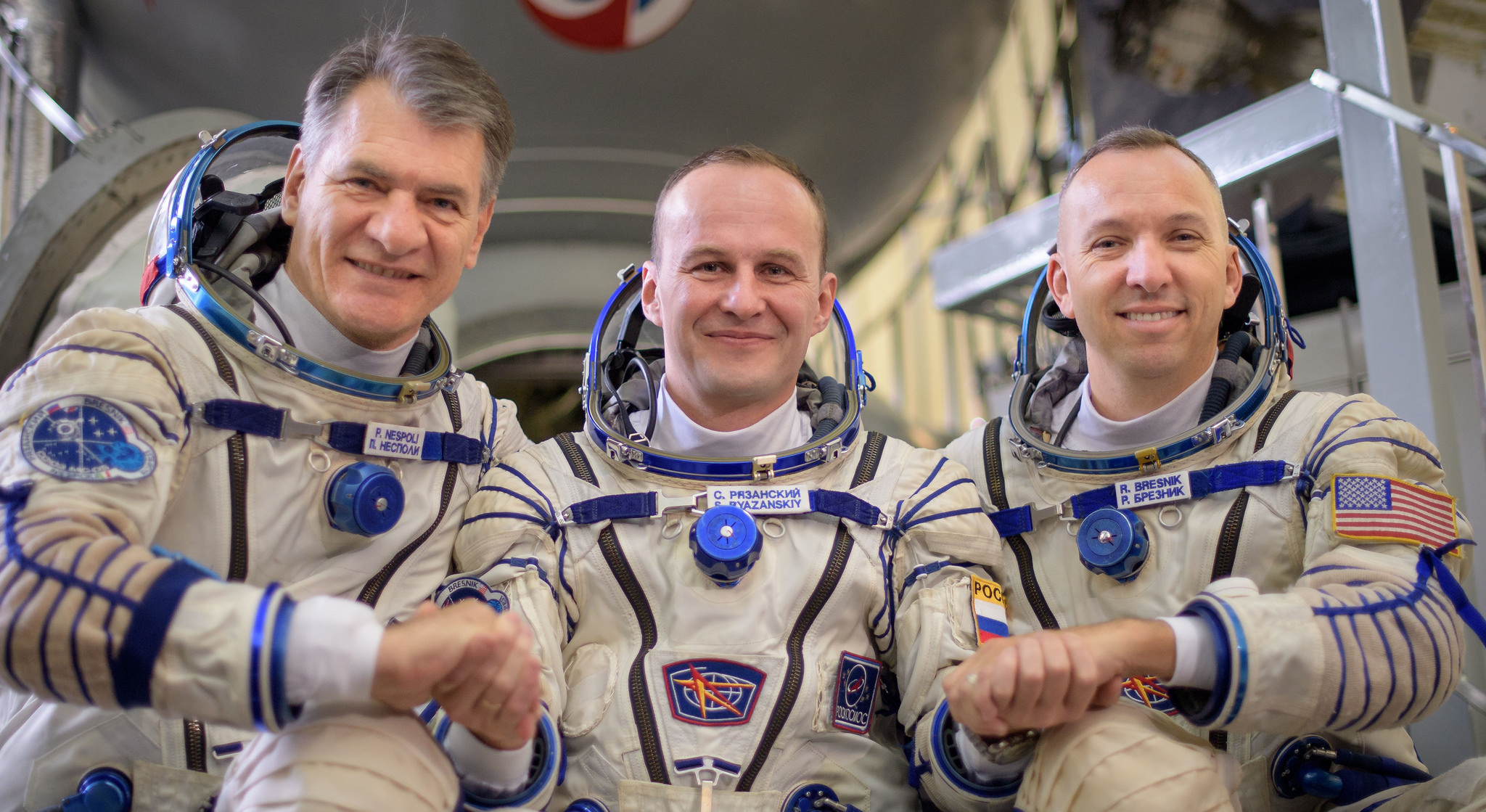 Expedition 52-53 crew members