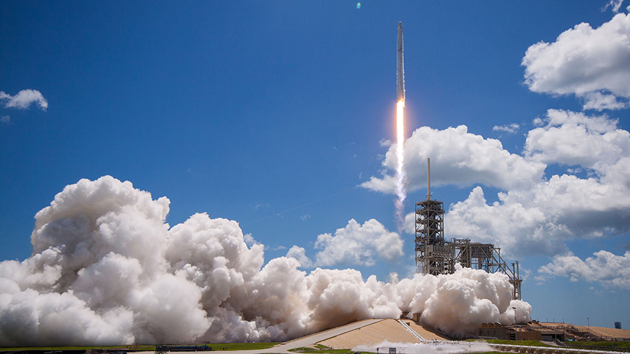 Spacex CRS-12 Launch
