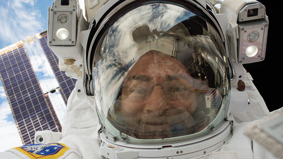 NASA Astronaut Mark Vande Hei
