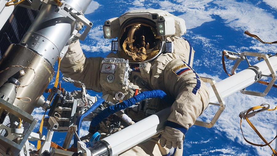 Cosmonaut Anton Shkaplerov