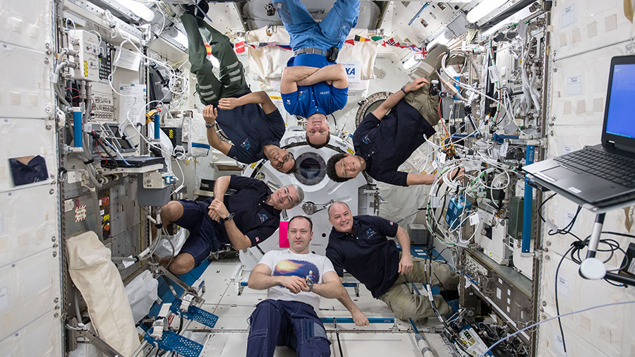 Expedition 54 Crew Members