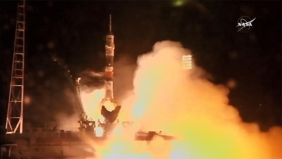 The Soyuz Rocket Launches