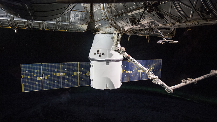 SpaceX Dragon Space Freighter