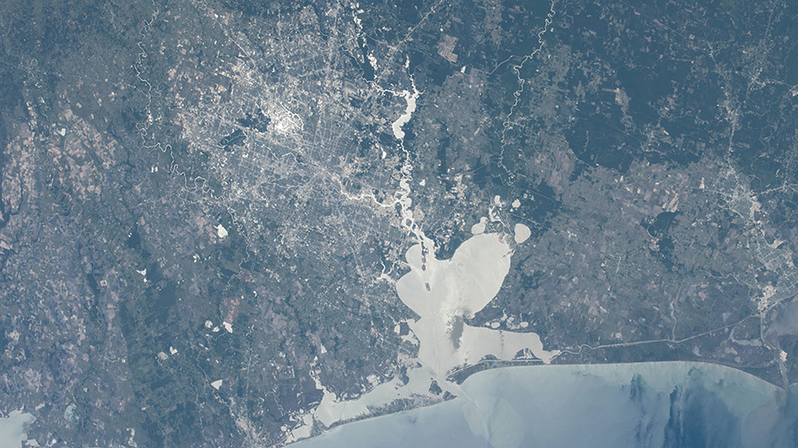 Houston and Galveston Bay