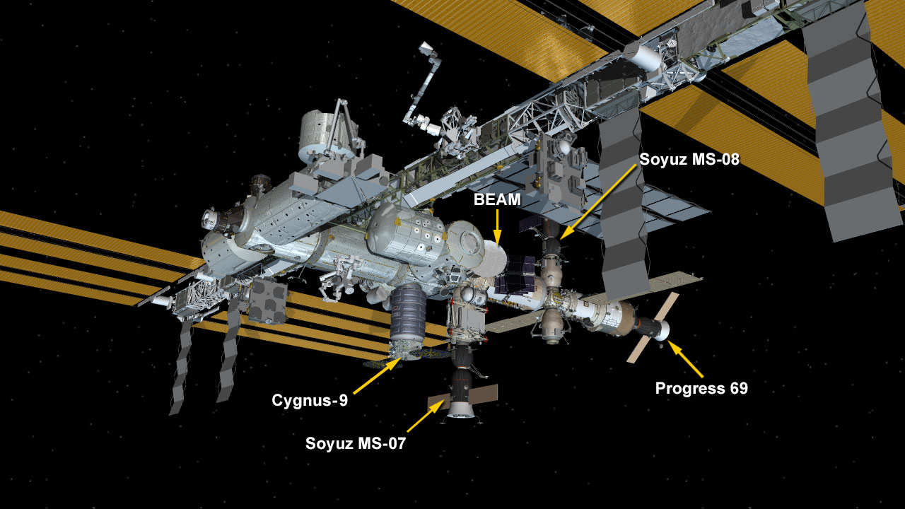 May 24, 2018: International Space Station Configuration