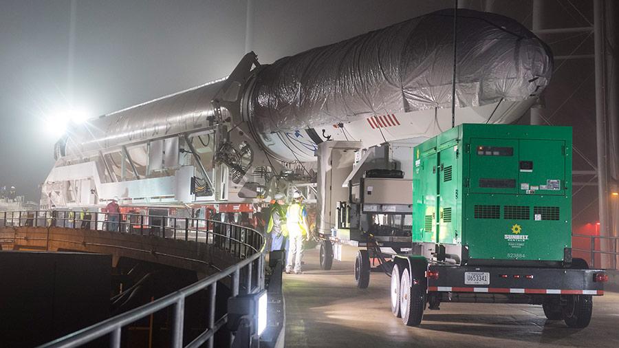 The Antares rocket from Orbital ATK