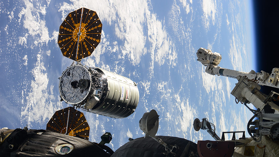 Orbital ATK's Cygnus resupply ship