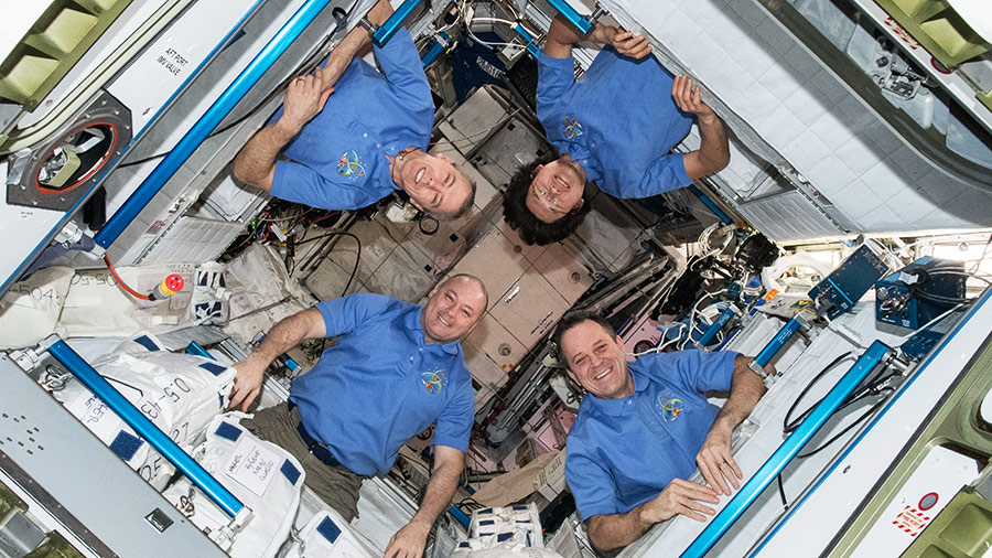 Four Expedition 55 Astronauts