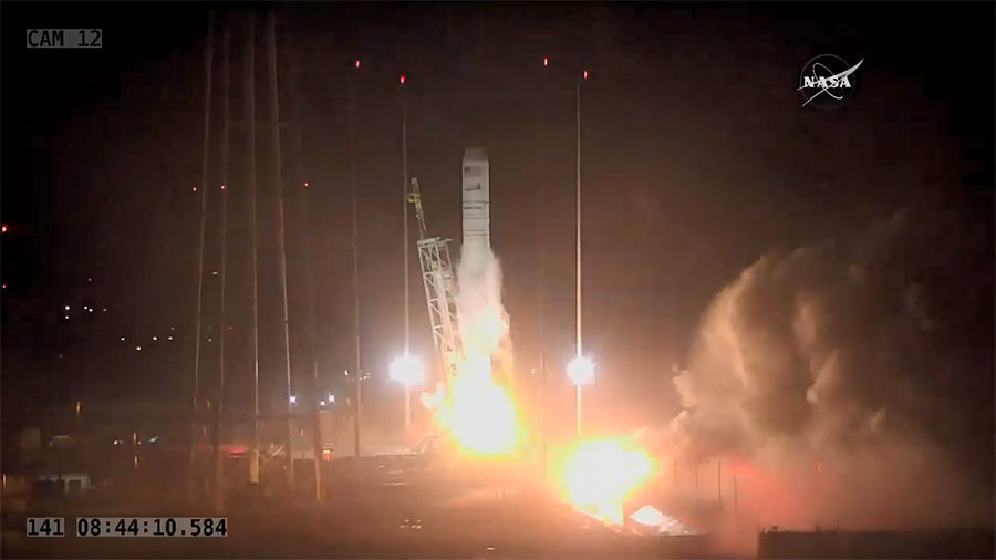 Cygnus Blasts Off