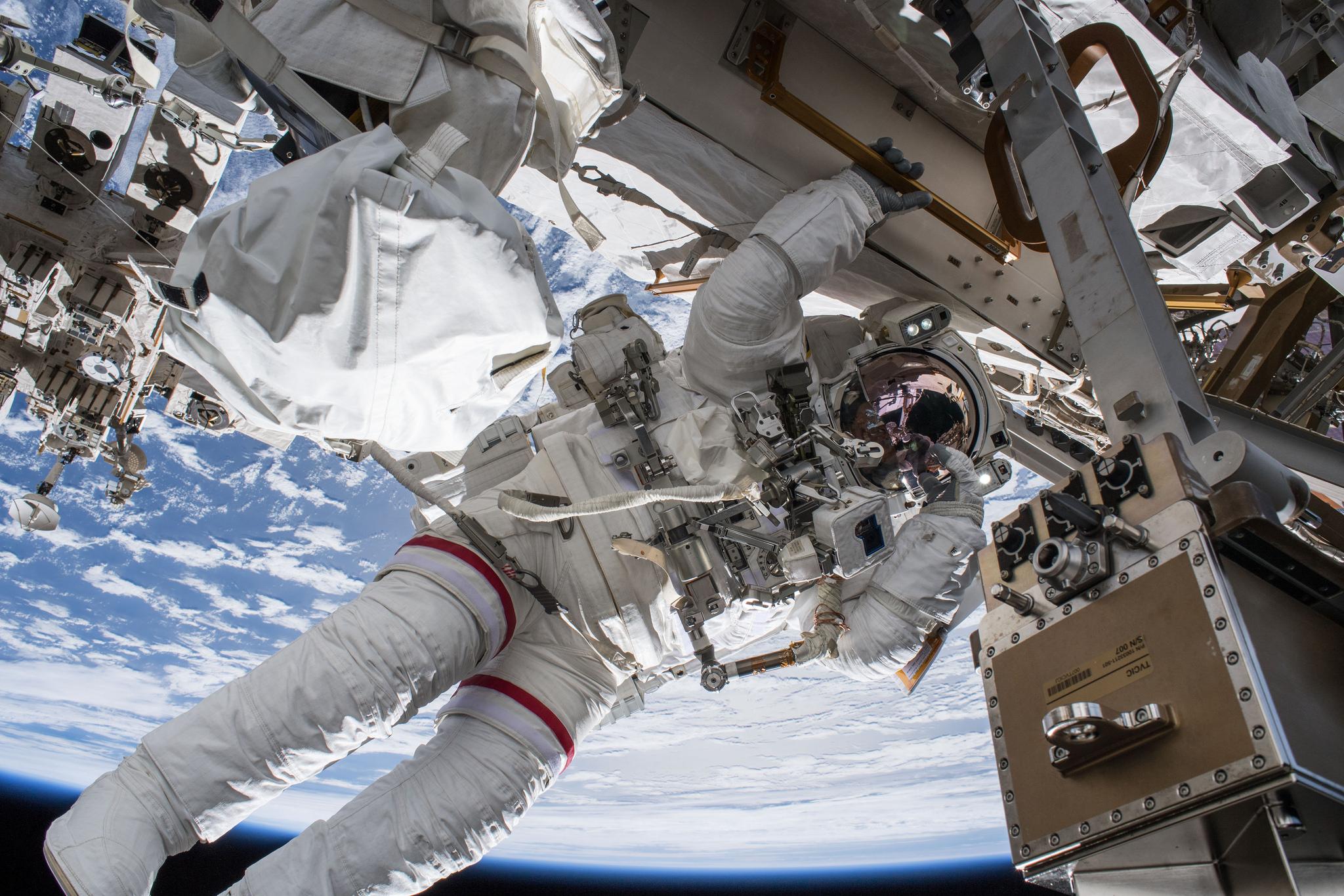NASA astronaut Drew Feustel