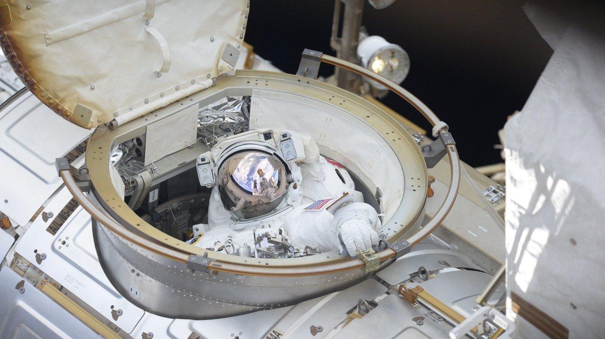 Astronaut Ricky Arnold