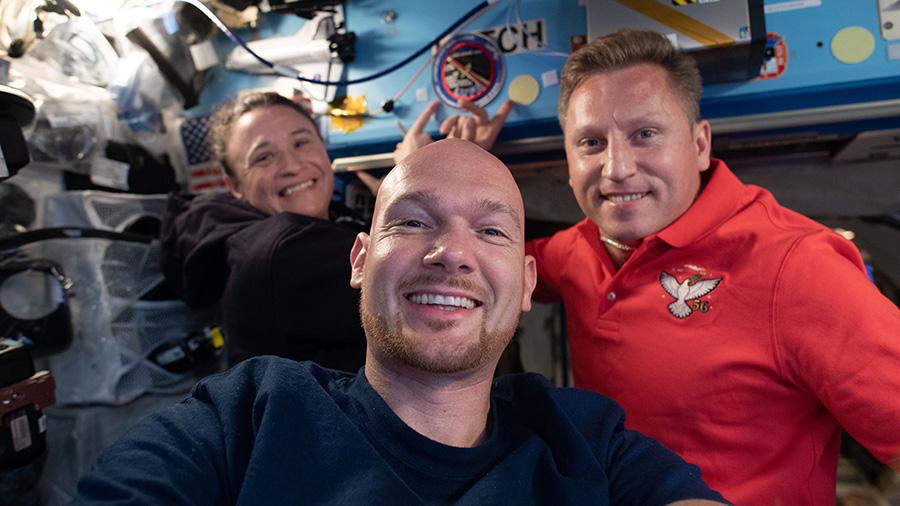 Expedition 56-57 crewmates