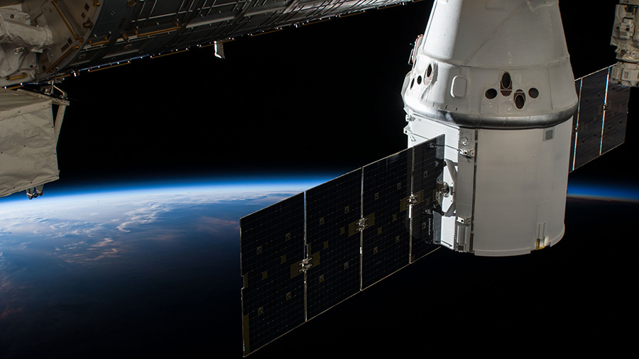 SpaceX Dragon Resupply Ship