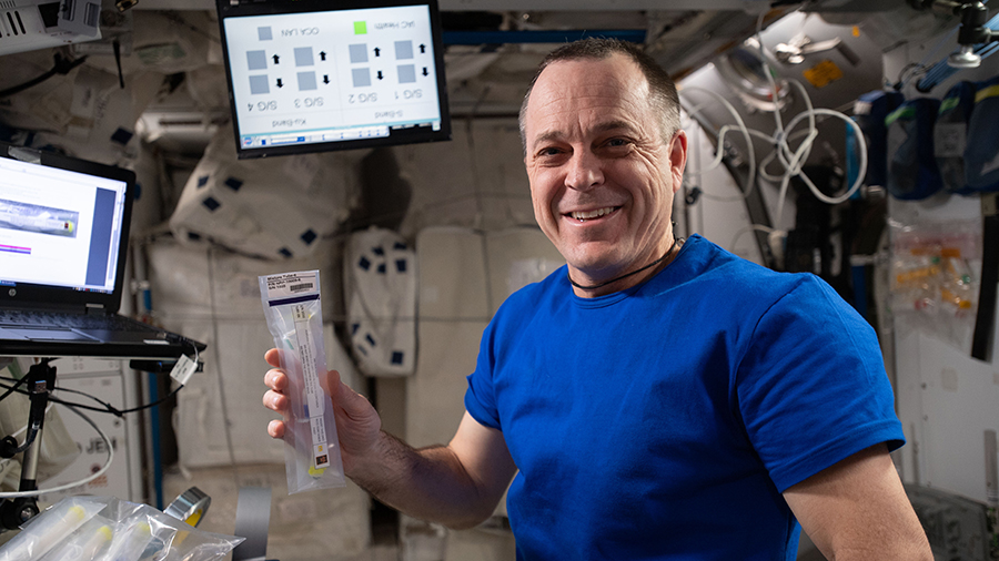 Expedition 56 Flight Engineer Ricky Arnold