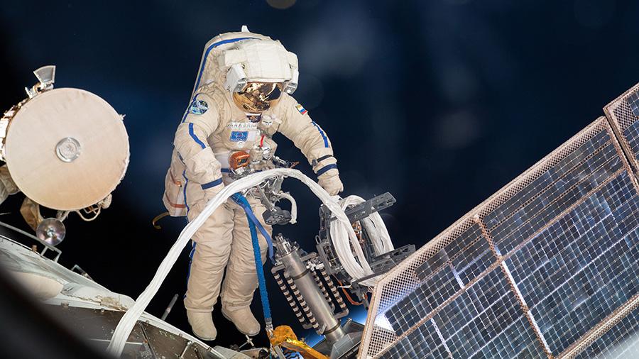 Roscosmos cosmonaut Sergey Prokopyev