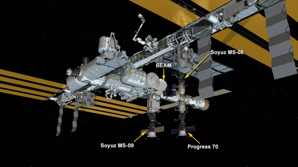 Aug. 22, 2018: International Space Station Configuration