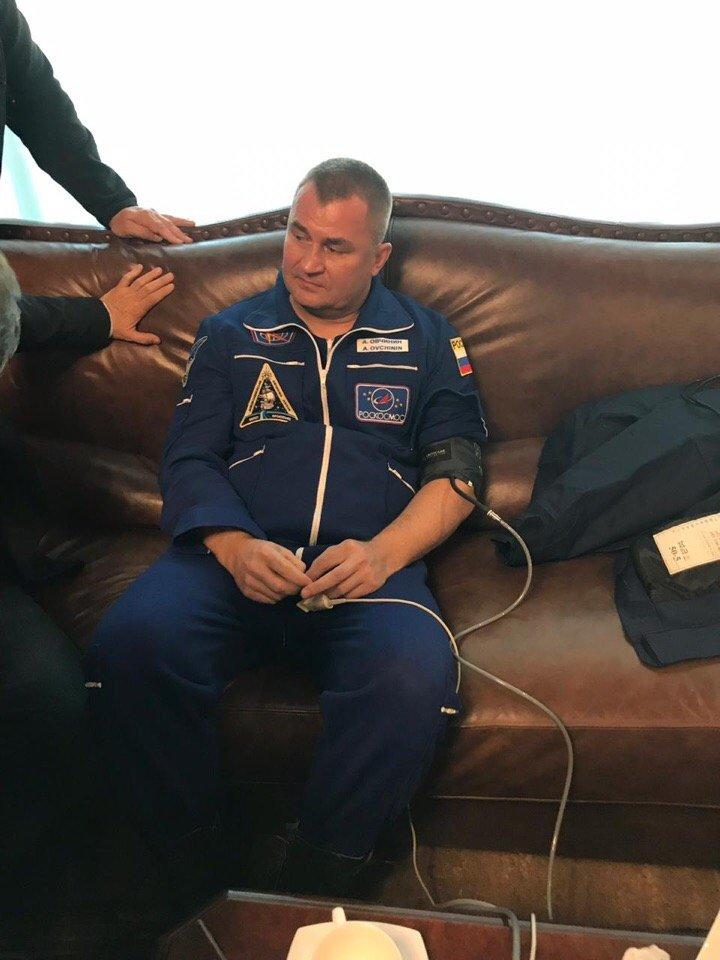 Roscosmos cosmonaut Alexey Ovchinin