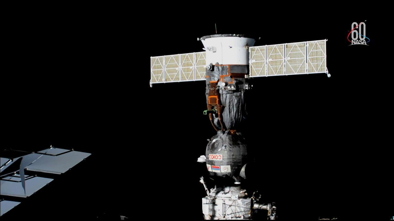 Soyuz MS-08 Spacecraft