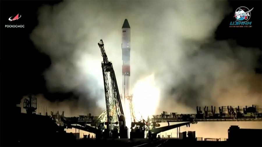 Russia's Cargo Craft Blasts Off to Station for Sunday Delivery