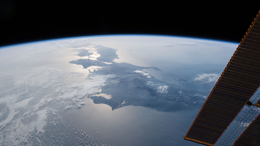 View of Japan from the International Space Station