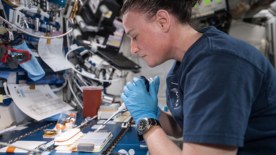 NASA astronaut Serena Auñón-Chancellor