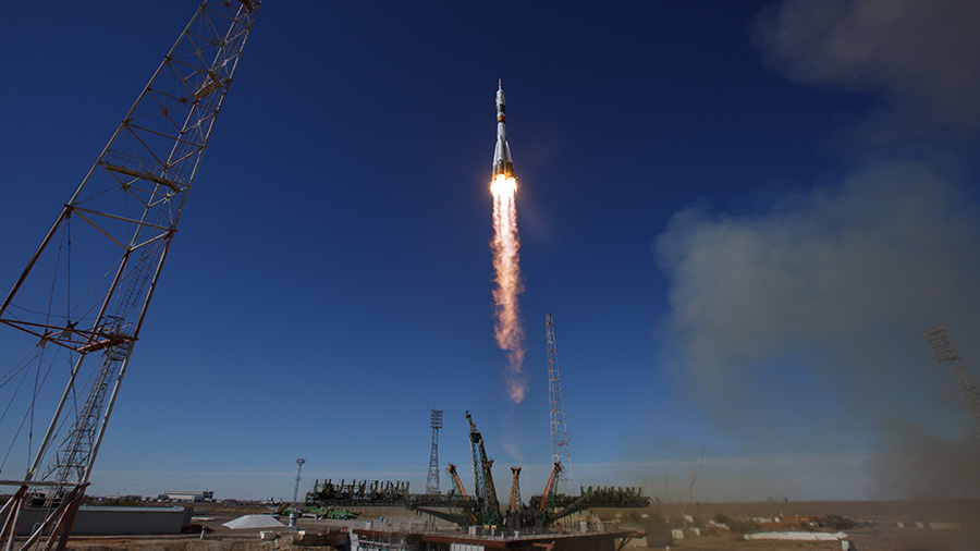 The Soyuz MS-10 spacecraft launched Oct. 11, 2018