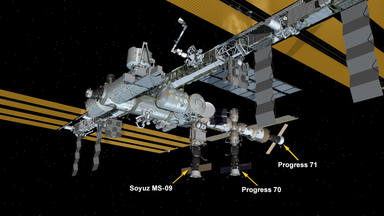 Nov. 18, 2018: International Space Station Configuration