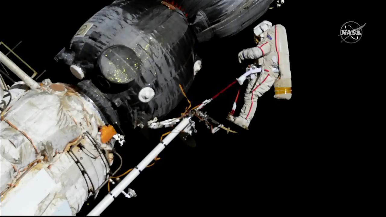 Spacewalker Oleg Kononenko