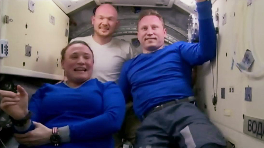 Expedition 57 crew members