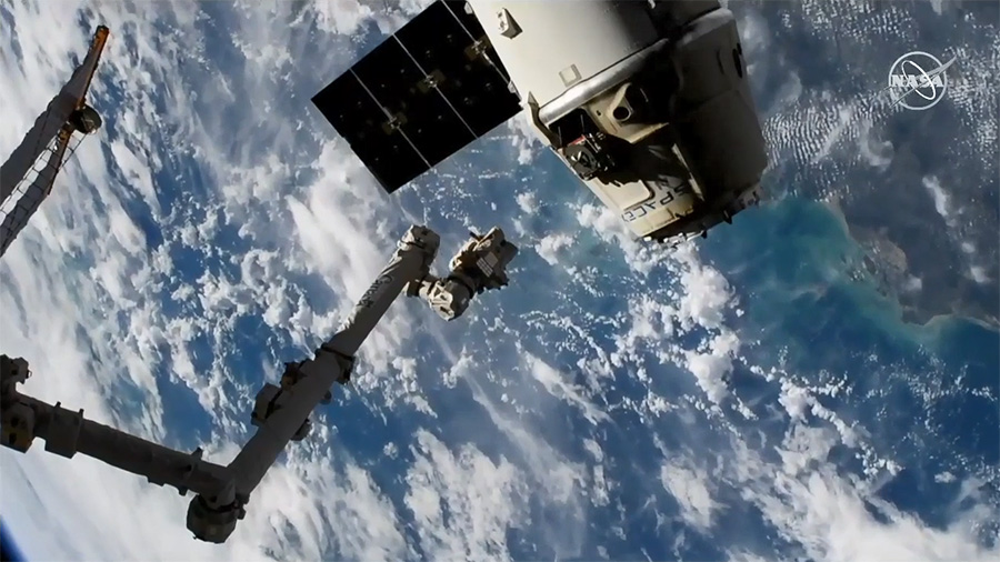 SpaceX Dragon Release