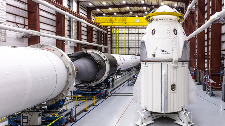 SpaceX's Crew Dragon spacecraft and Falcon 9 rocket