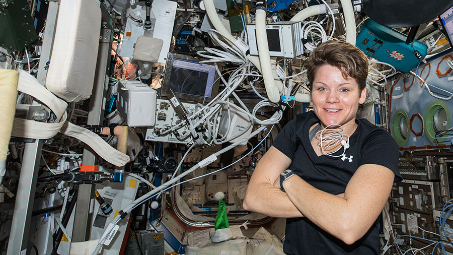 NASA astronaut Anne McClain