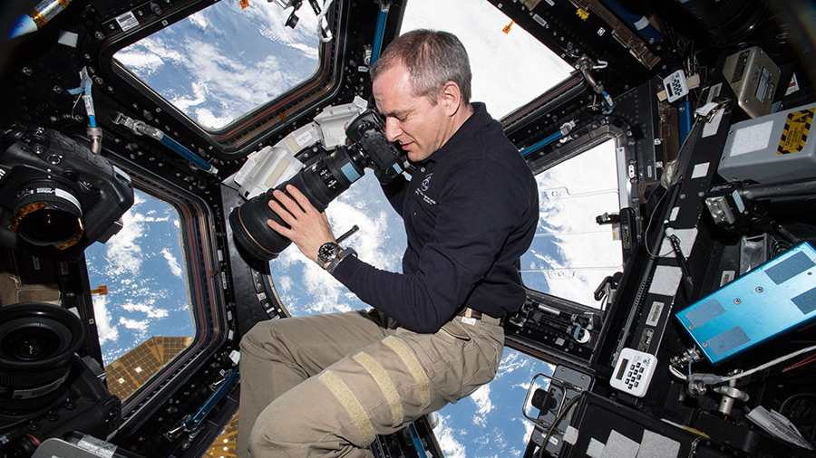 Astronaut David Saint-Jacques of the Canadian Space Agency