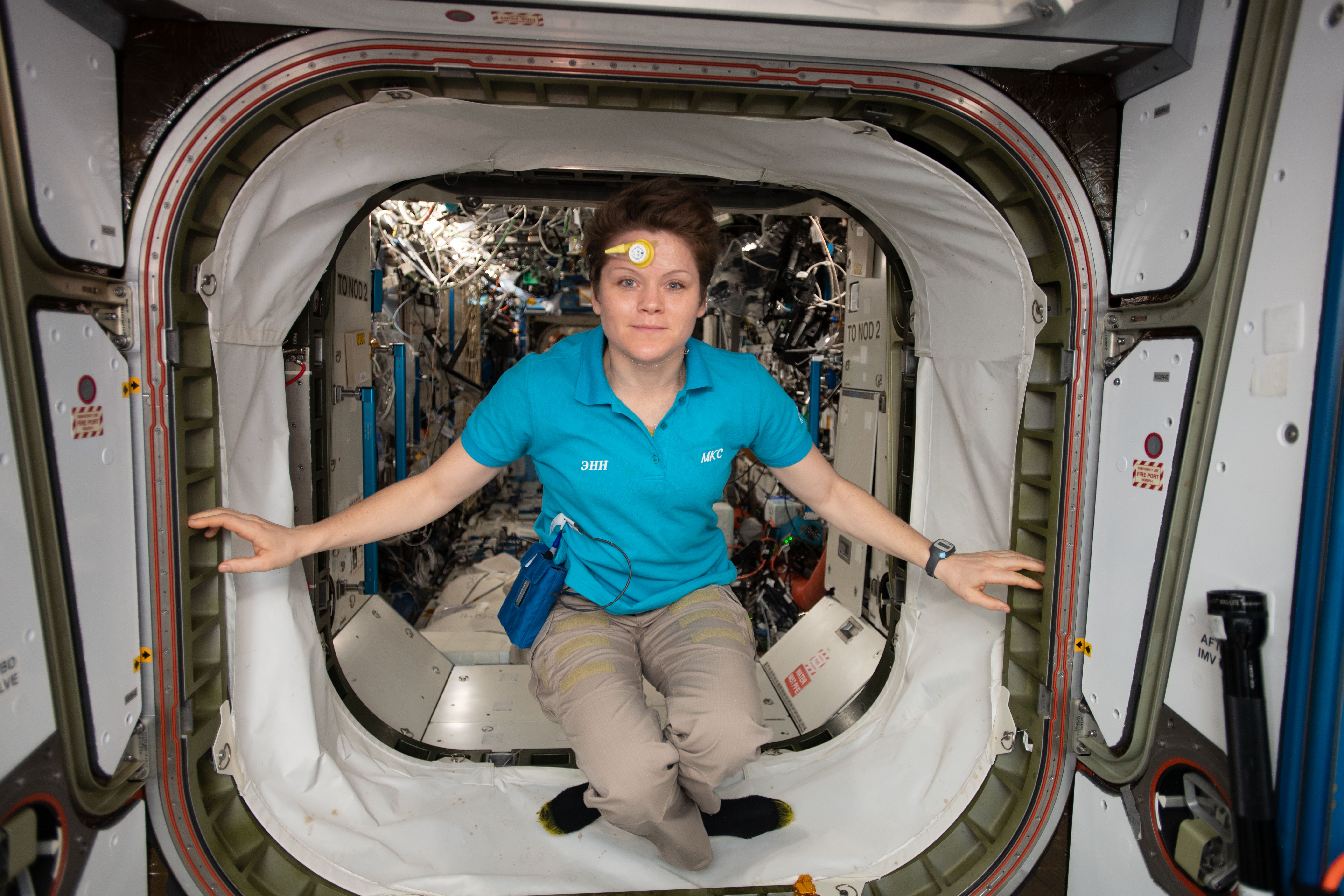 Crew Wraps Up Biomedical Studies; Films Station in Virtual Reality – Space Station