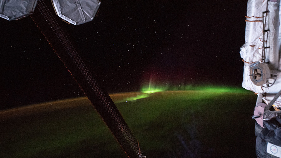 "The aurora australis, also known as the ""southern lights"""