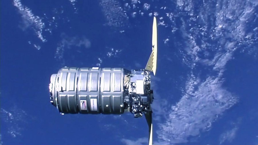 The Cygnus spacecraft from Northrop Grumman
