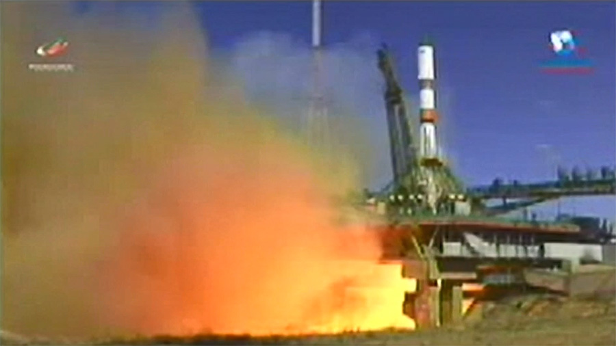 Russia's Progress 72 resupply ship blasts off on time
