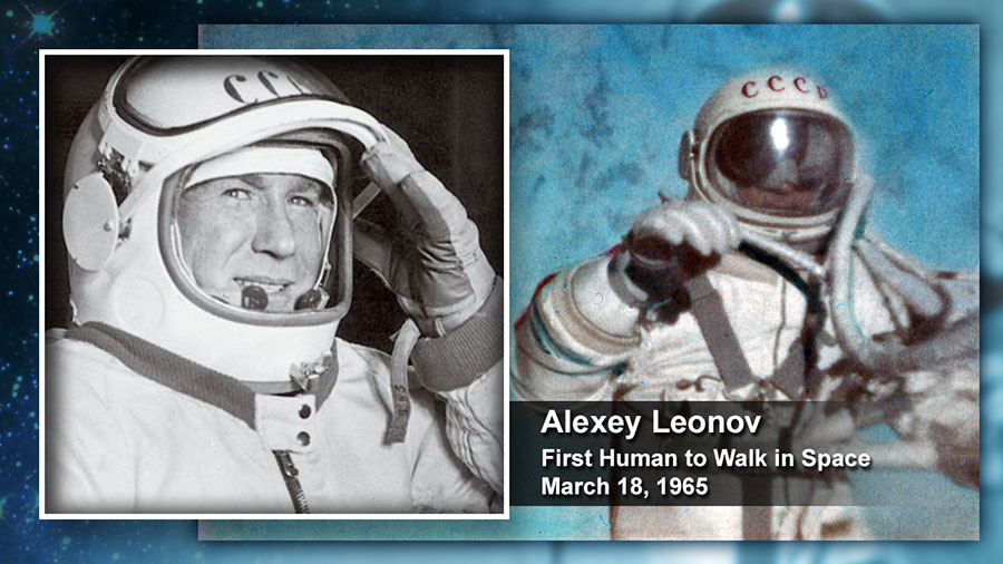 Alexey Leonov: First Human to Walk in Space