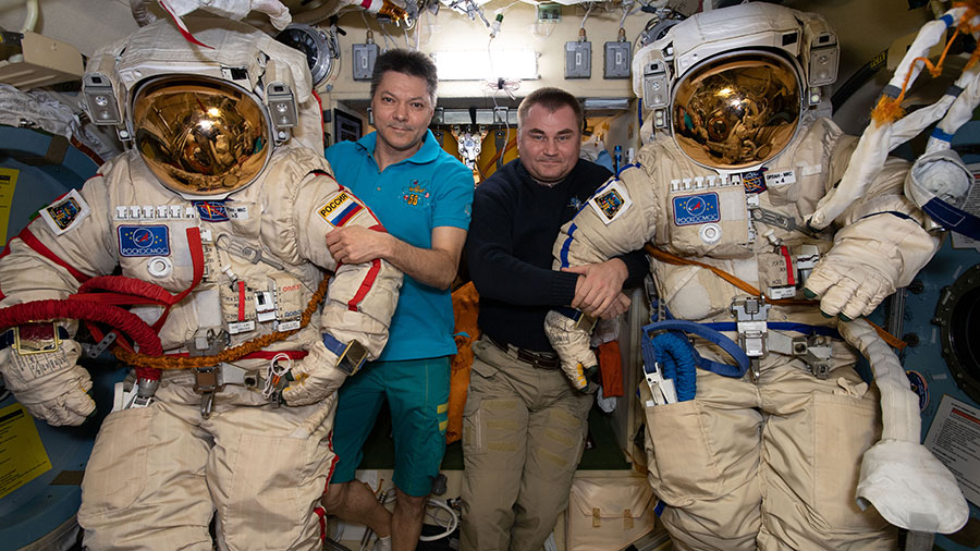 NASA TV Broadcasting Live Russian Spacewalk for Station ...