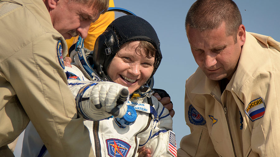 Expedition 59 NASA astronaut Anne McClain