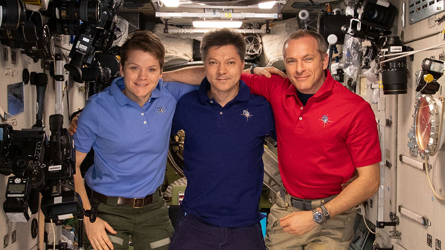 Expedition 58-59 crewmembers
