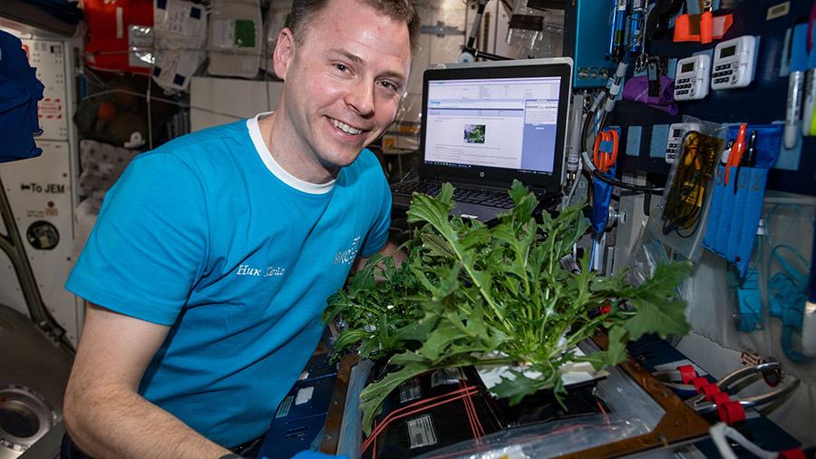 Expedition 60 Flight Engineer Nick Hague of NASA