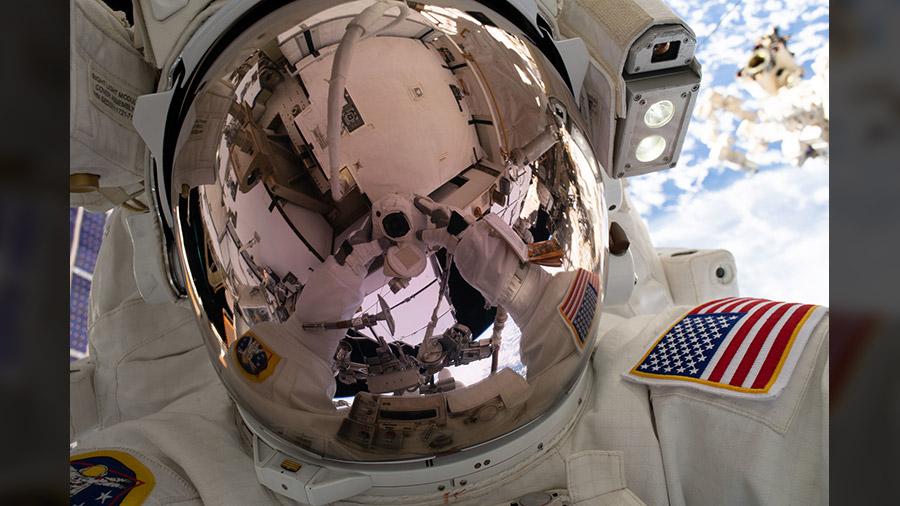 NASA astronaut Nick Hague
