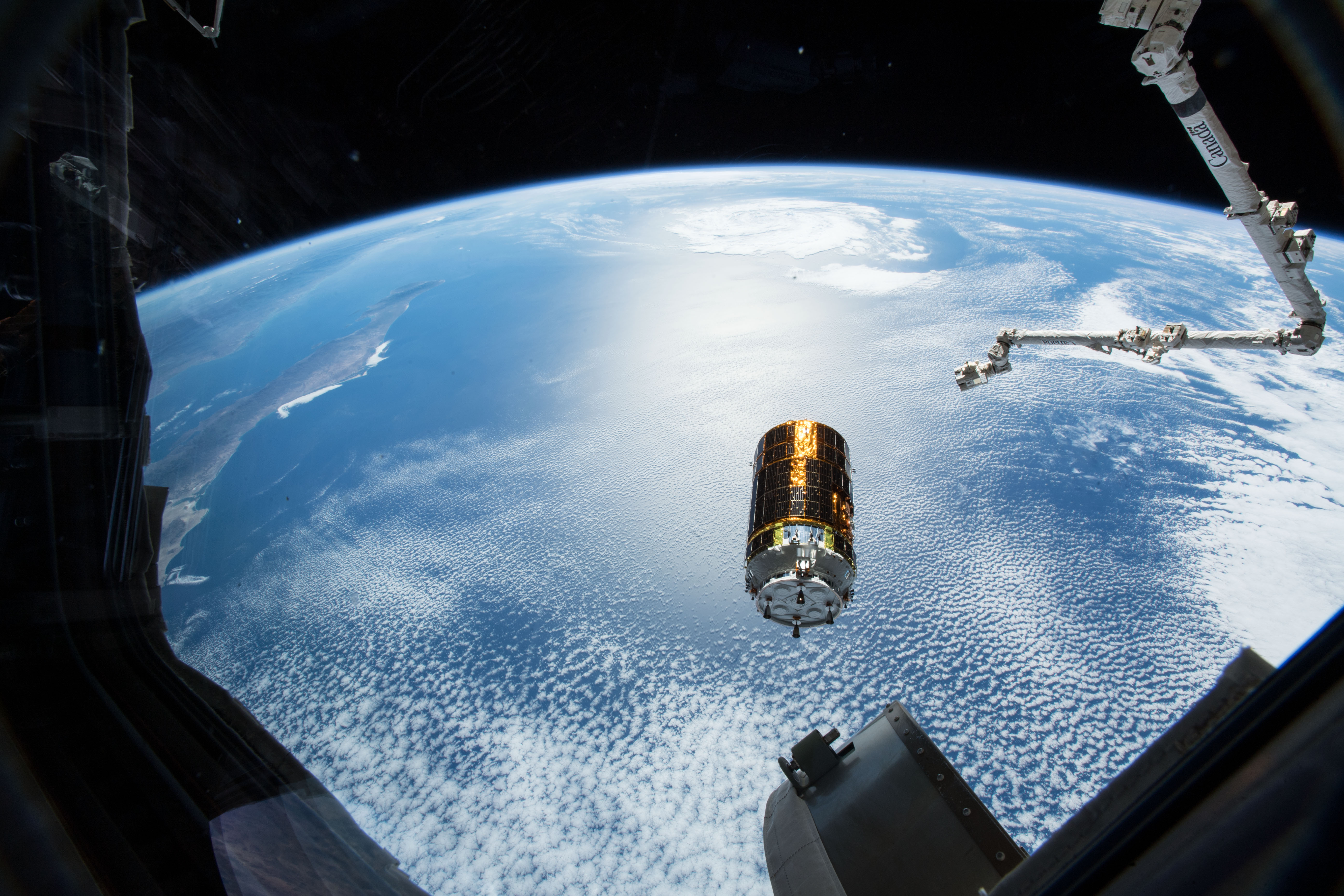 The Japan Aerospace Exploration Agency's uncrewed cargo transfer craft, called HTV, will deliver supplies and new investigations to the International Space Station.