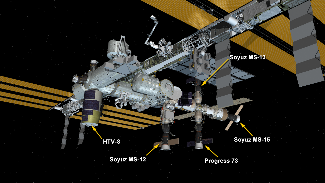 Sept. 28, 2019: International Space Station Configuration.
